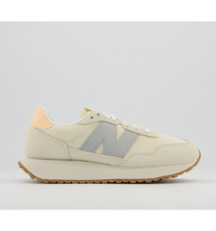 New Balance Ws237 Trainers NATURAL GREY ORANGE,Yellow,Red,Green,Natural,Blue
