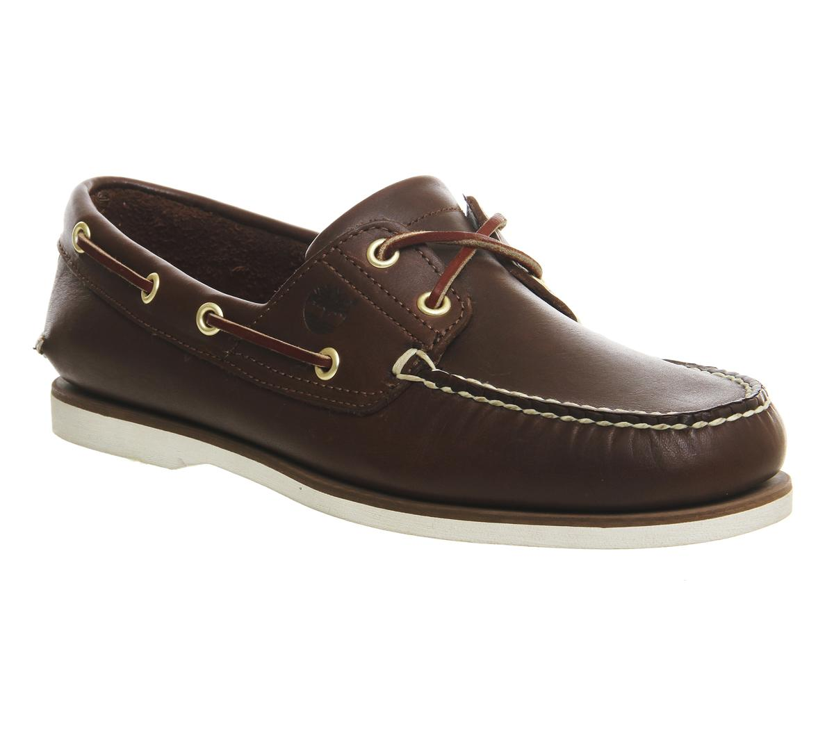 Timberland New Boat Shoes Dark Brown
