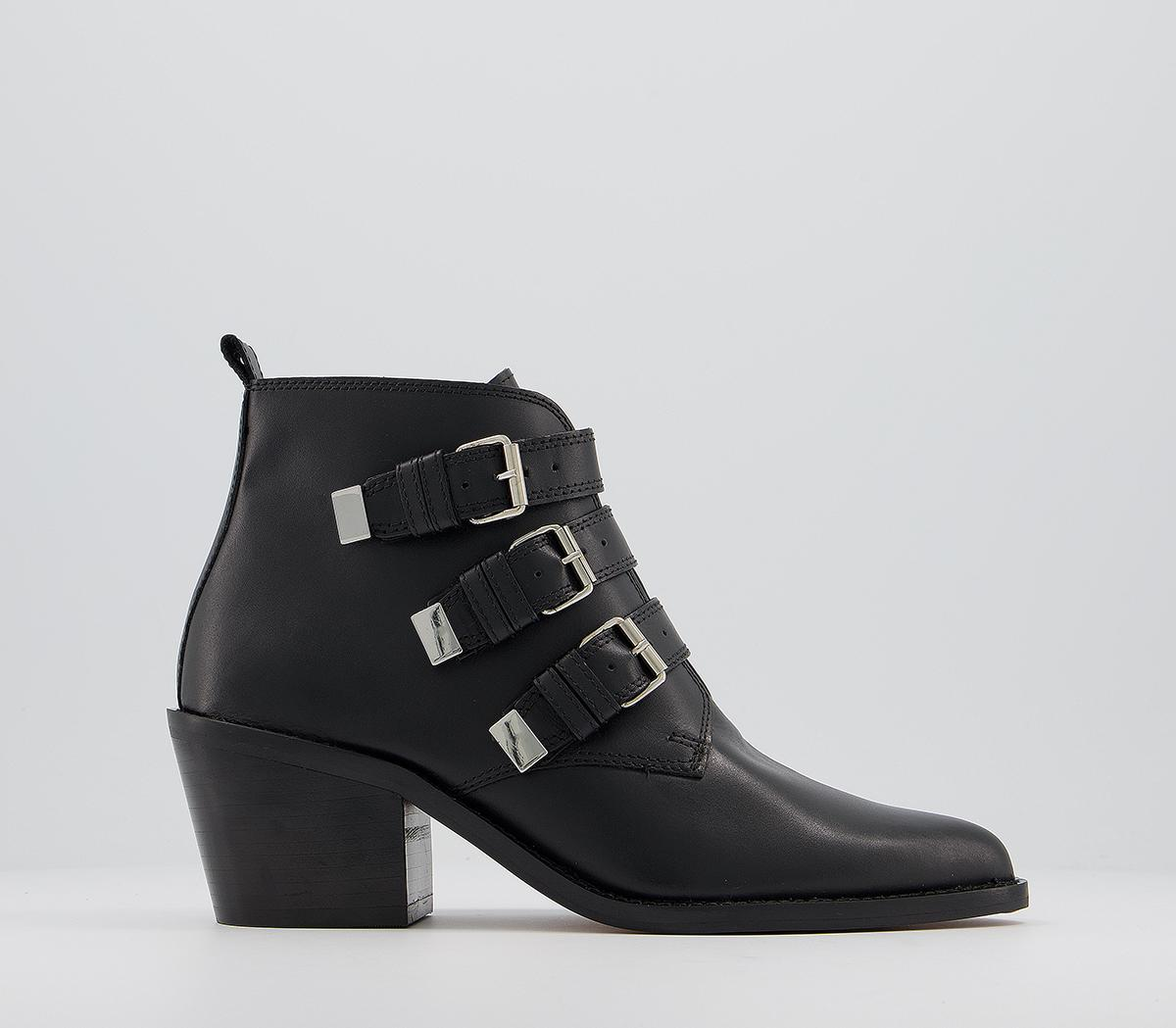 Affirm Buckle Western Boots