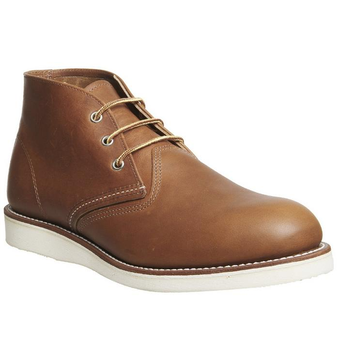 Redwing Redwing Work Chukka boots TAN LEATHER