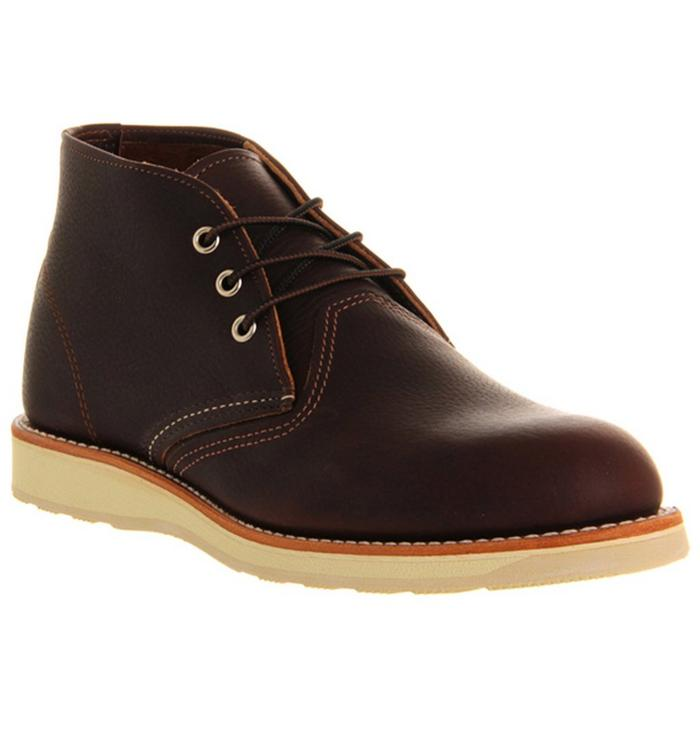 Redwing Redwing Work Chukka boots BROWN LEATHER