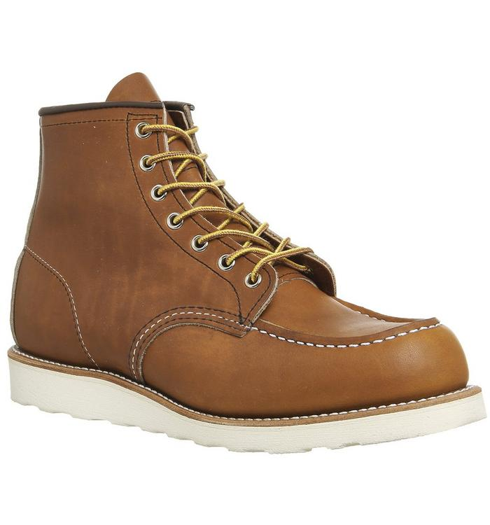 Redwing Redwing Work Wedge Boot TAN LEATHER