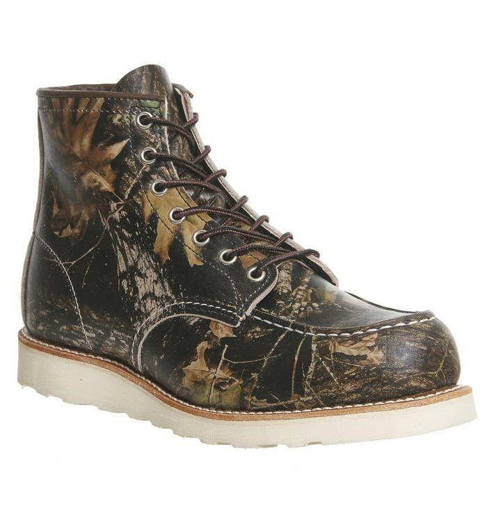 Redwing Redwing Work Wedge Boot CAMO LEATHER