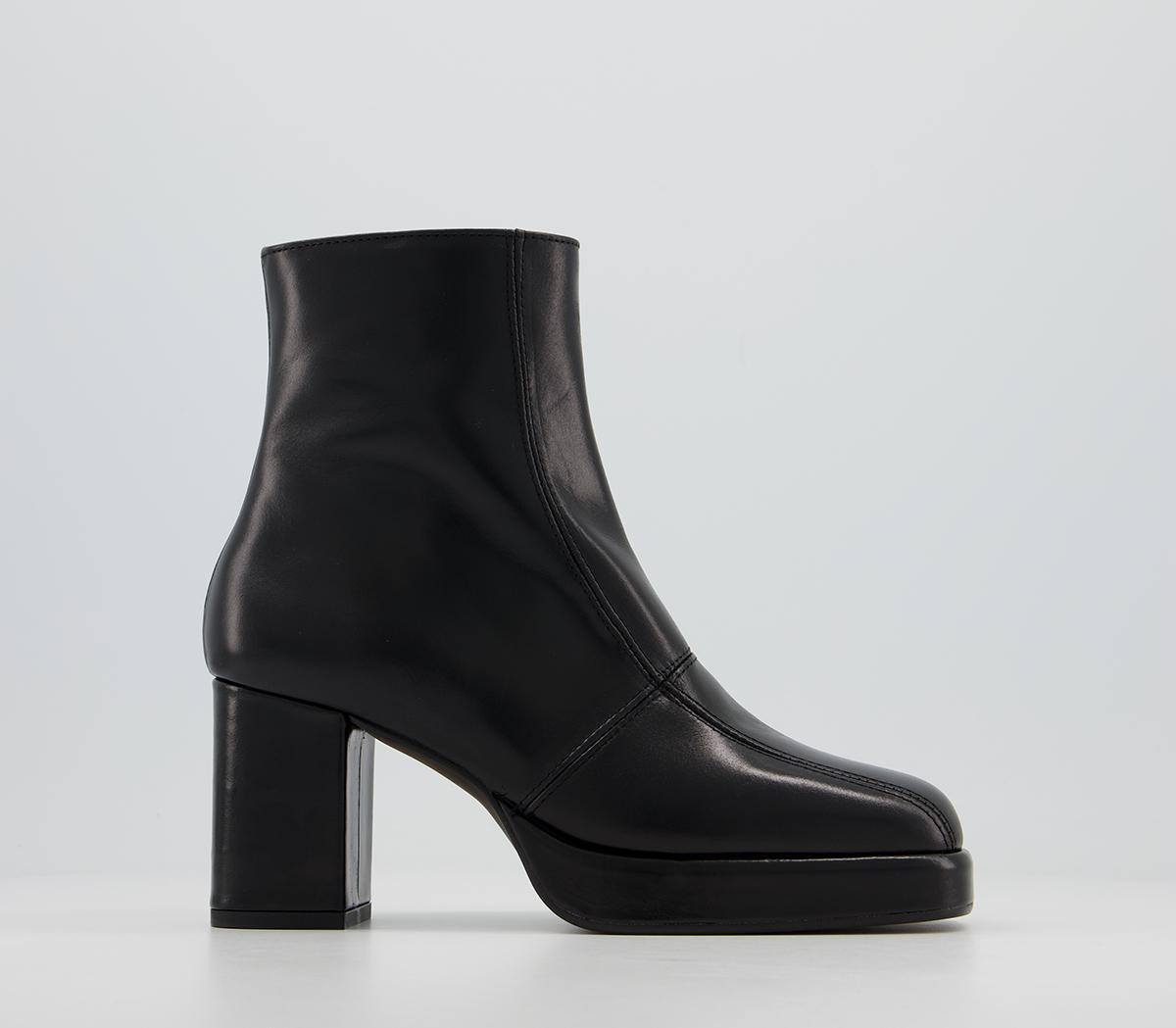 Adele Platform Ankle Boots