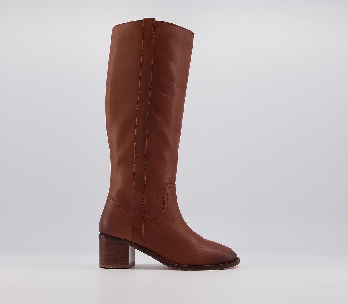 Kilter Block Heel Knee Boots