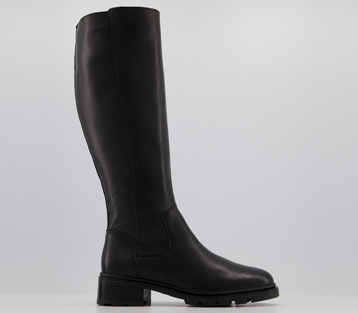 Kingly Clean Chunky Cleated Knee Boots
