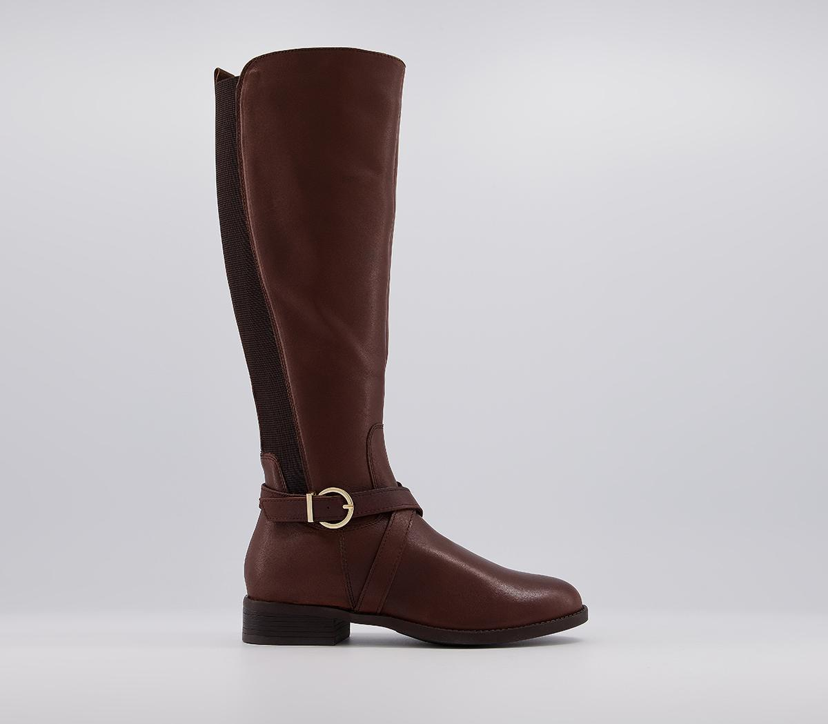 Knightly Elastic Rider Knee Boots