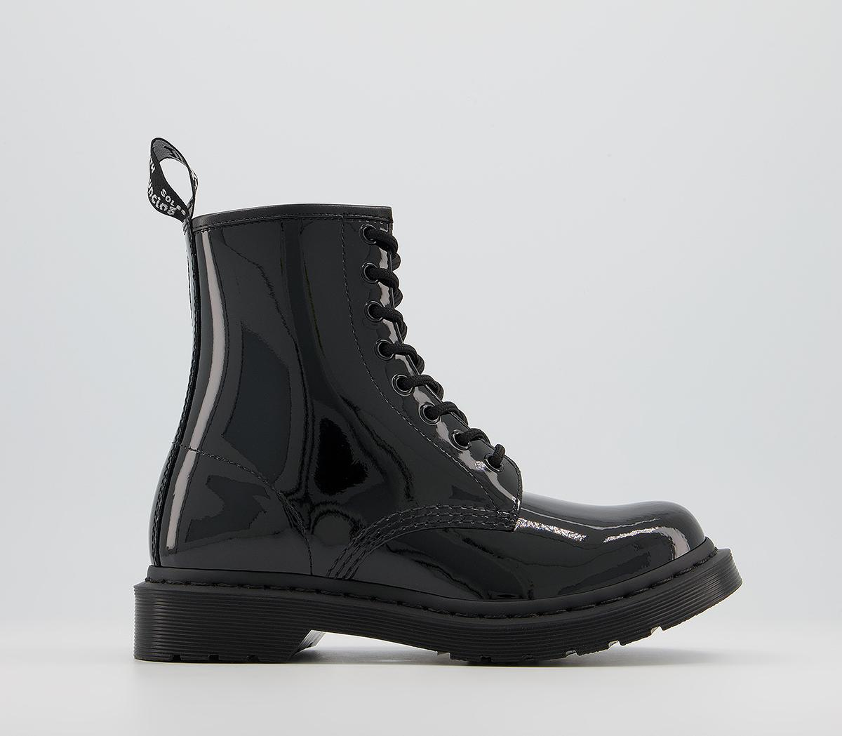 1460 Mono Patent Lamper Boots