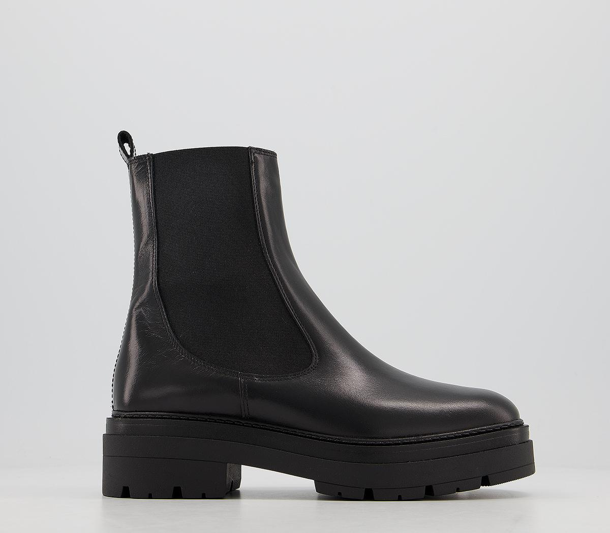 Office Accuse Chunky Chelsea Boots