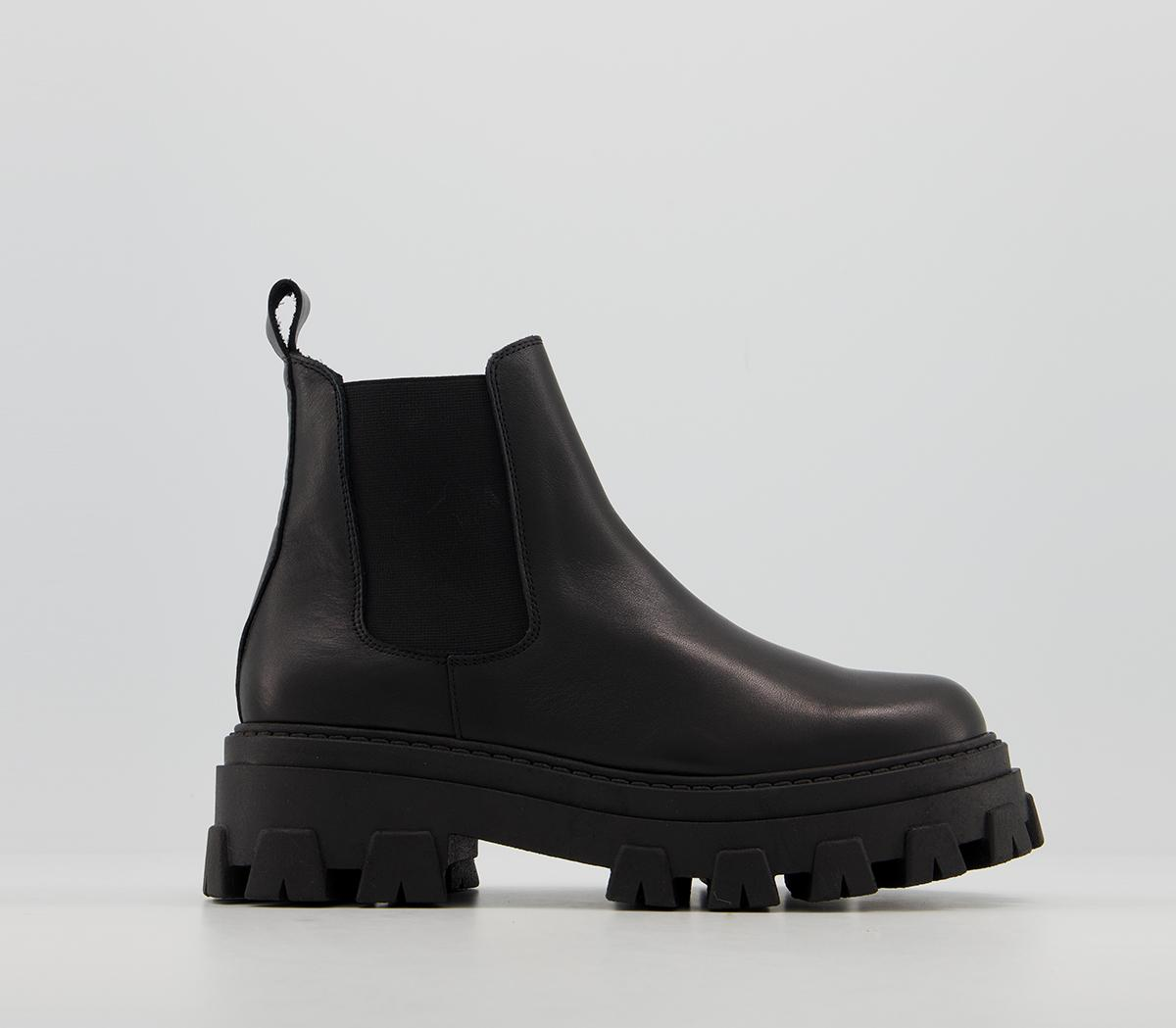 Office Assure - Chunky Chelsea Boots