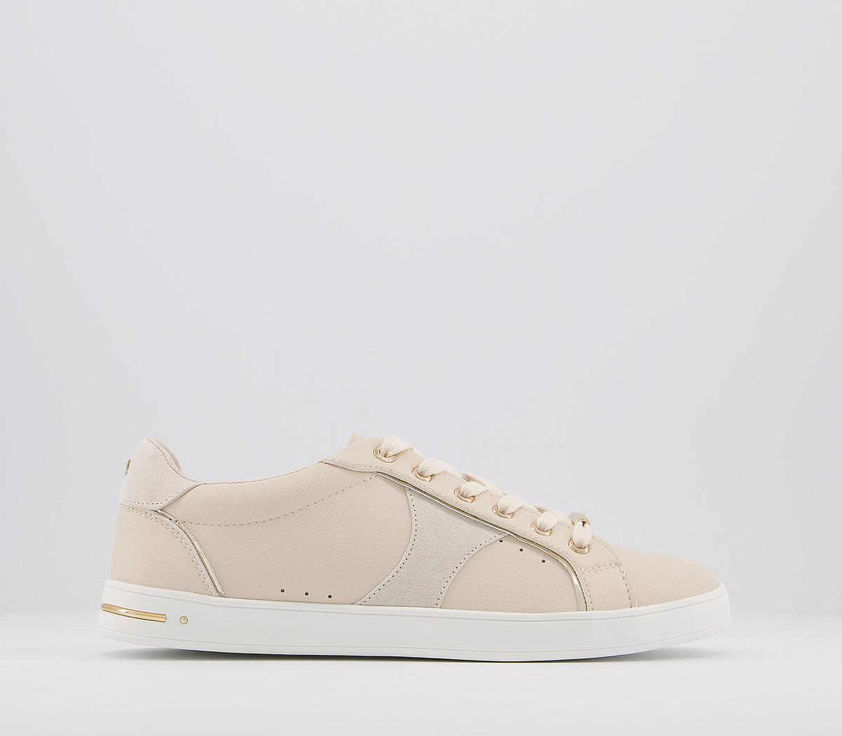 Force Feature Side Details Lace Up Trainers