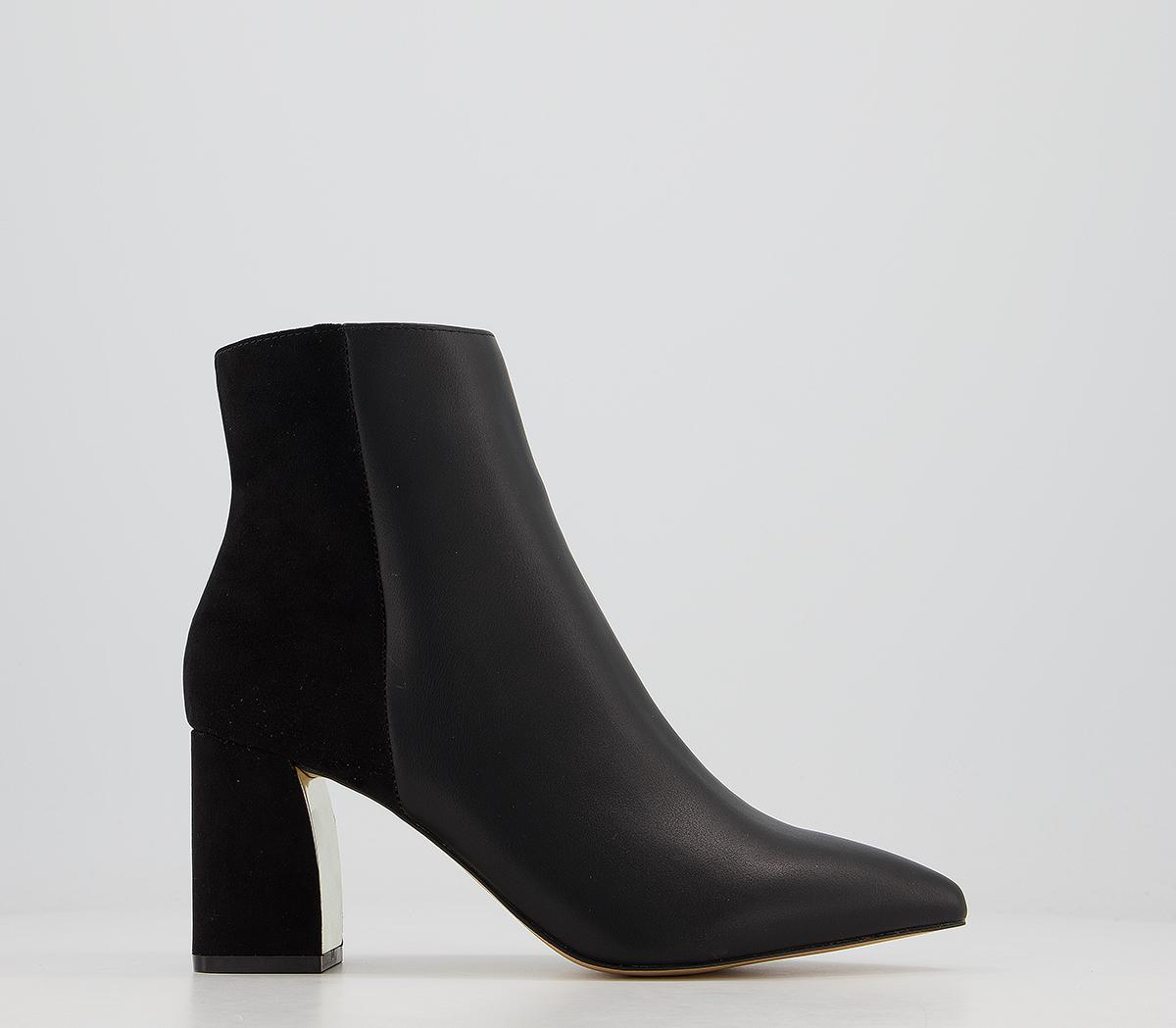 Ava Pointed Ankle Boots