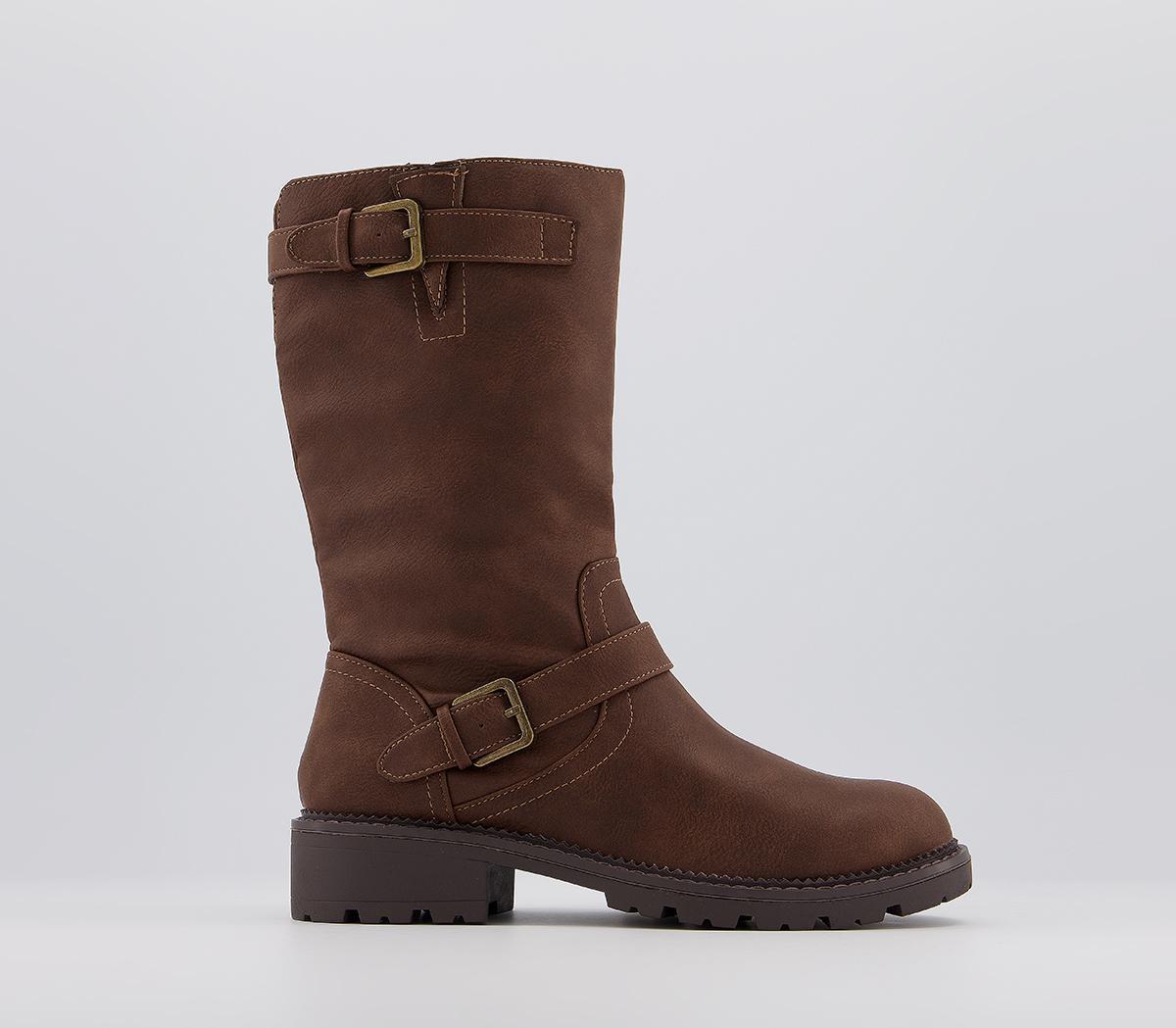 Kara Calf Boots