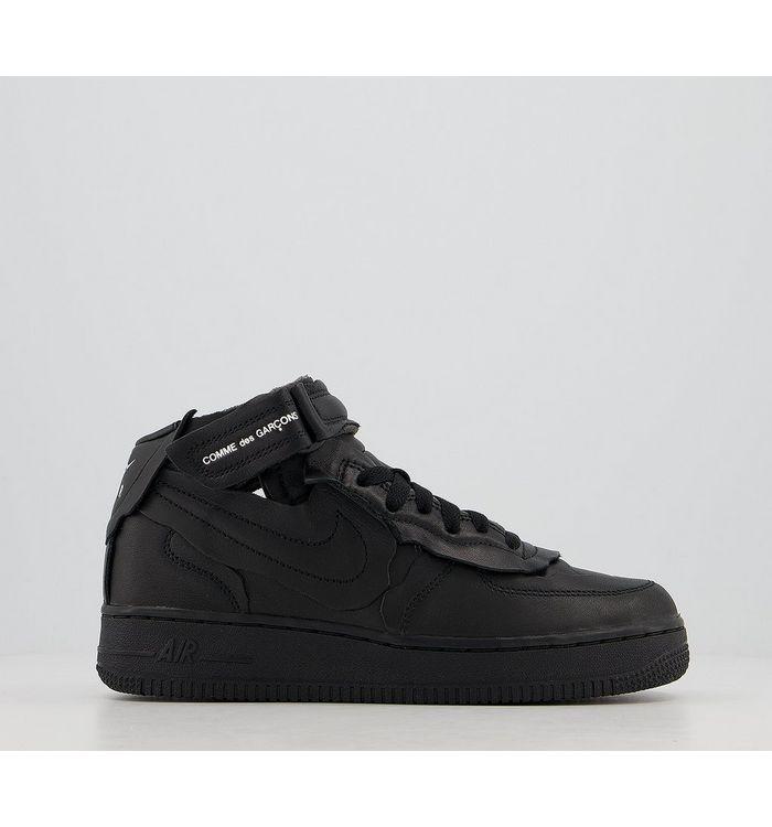 Comme Des Garcons Cdg Nike Cut Off Air Force 1 BLACK F,Black