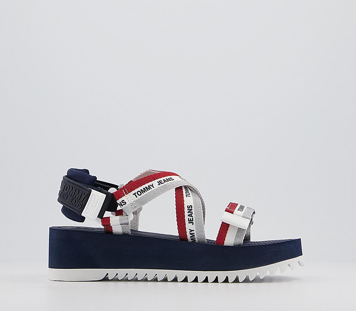 Lurex Strappy Sandals