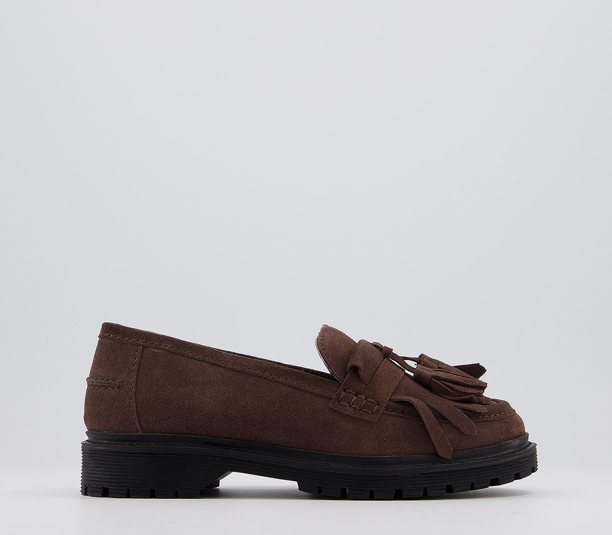 Fringe Cleated Loafers