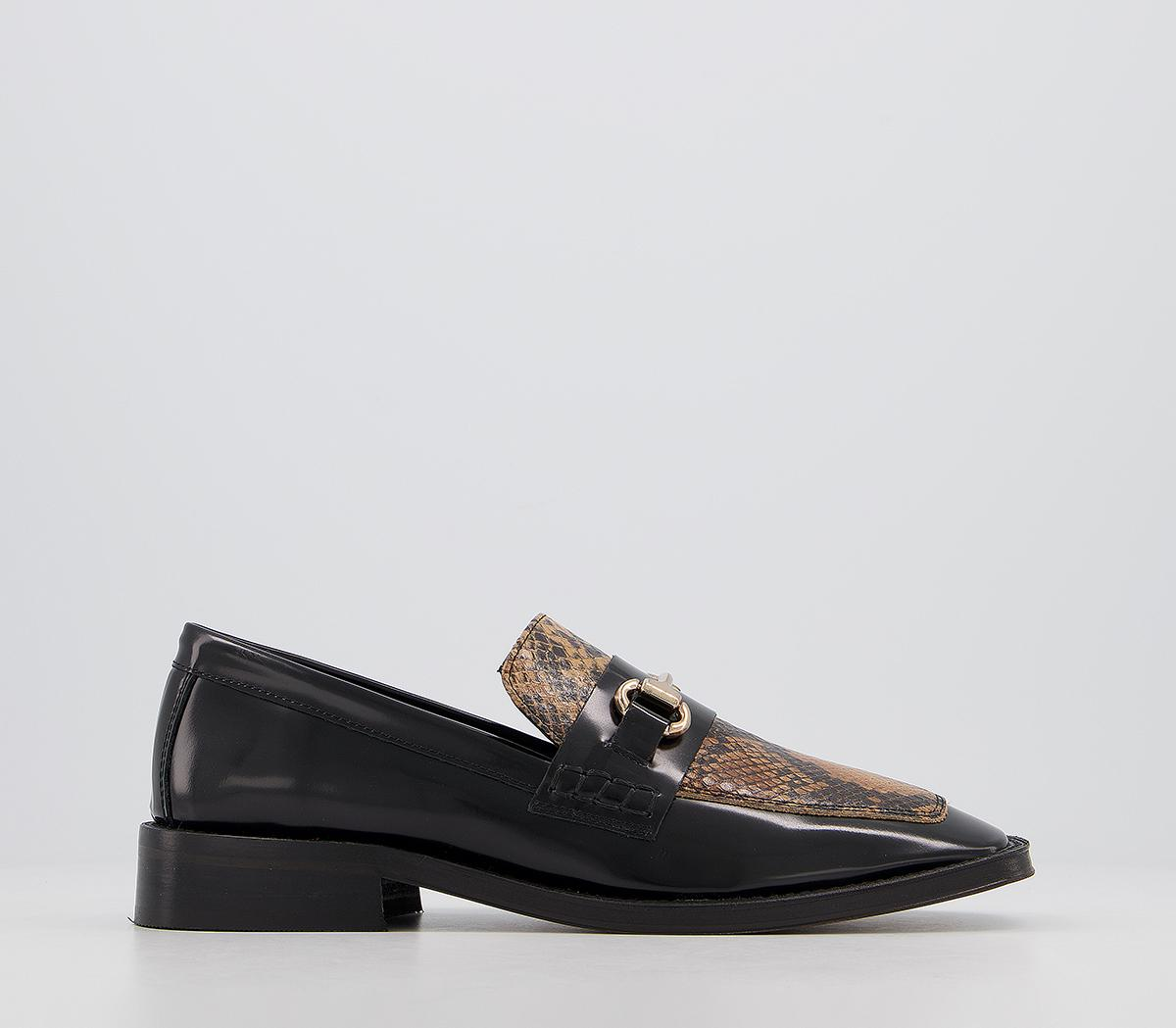 Freed Square Toe Loafers