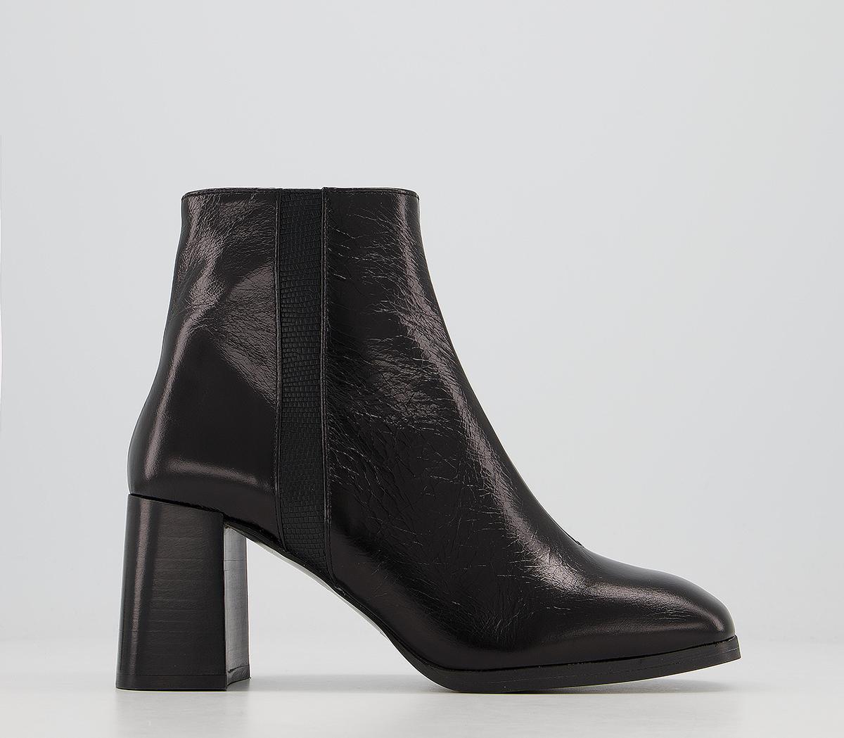 Active Platform Square Toe Boots