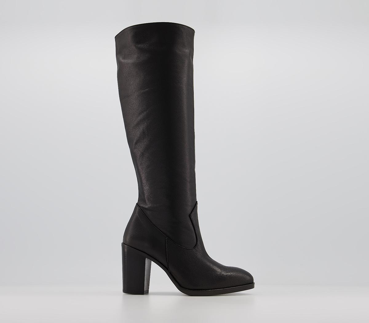 Knowledge Western Knee Boots