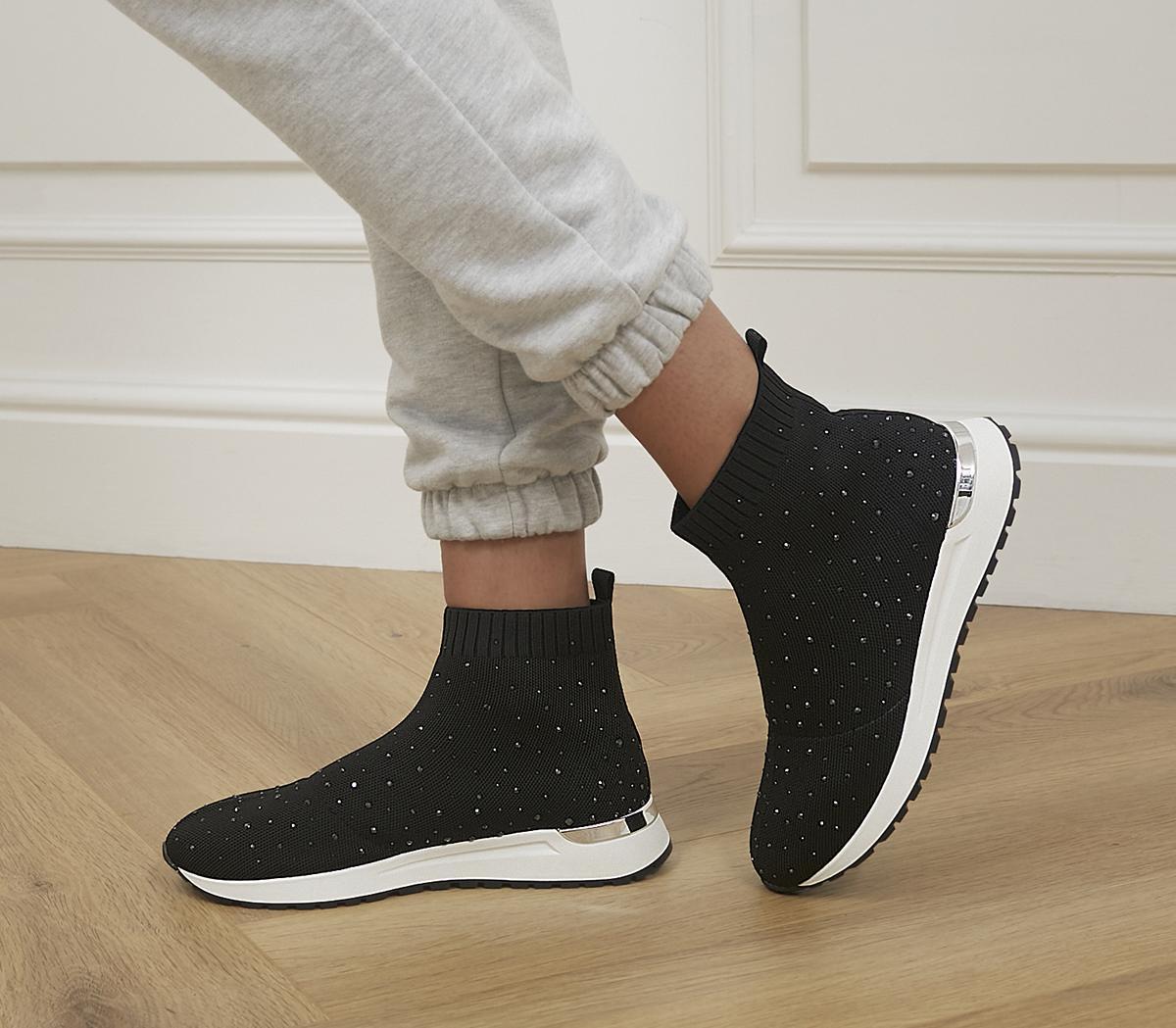 Fleet Embellished Sock Runners