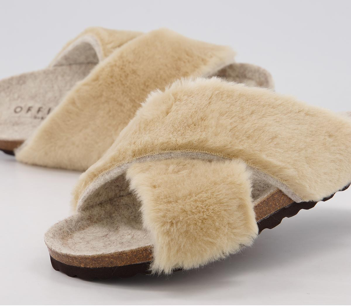 Fixed Cross Strap Slippers
