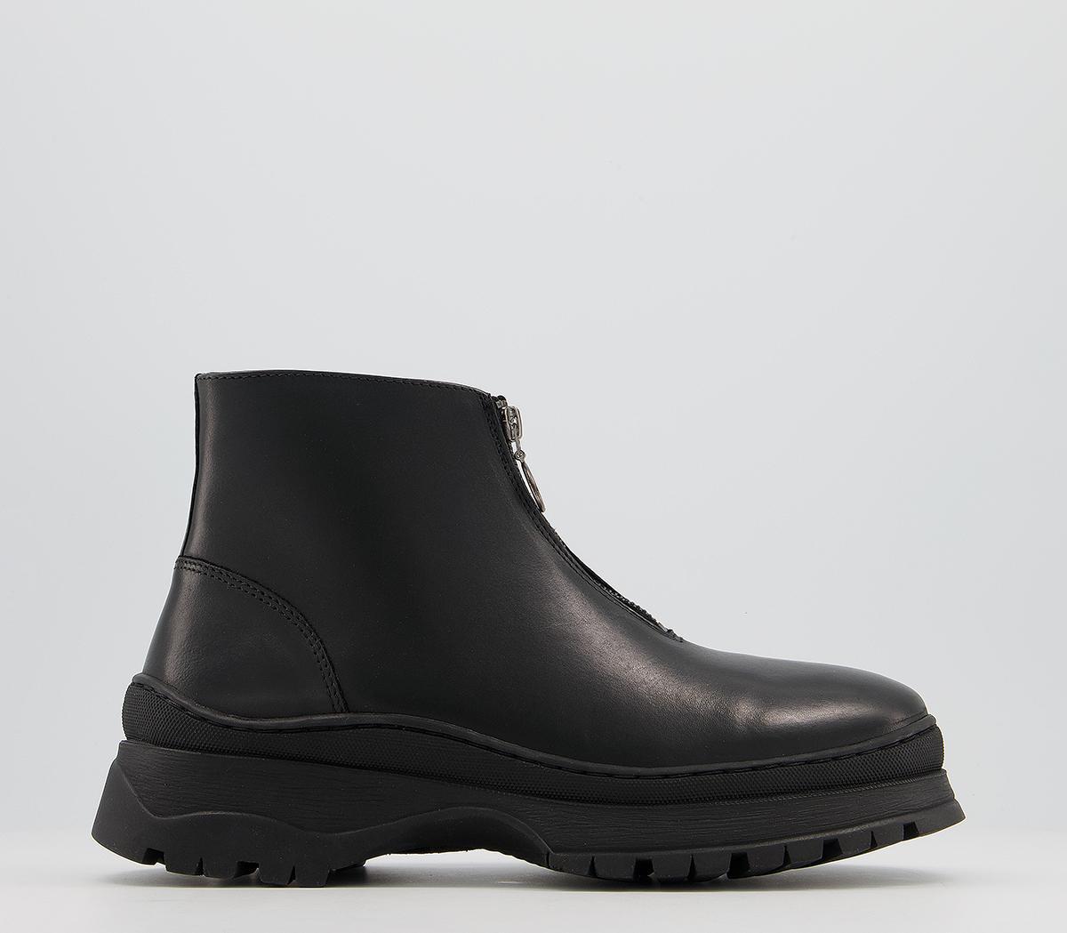 Benedict Front Zip Boots