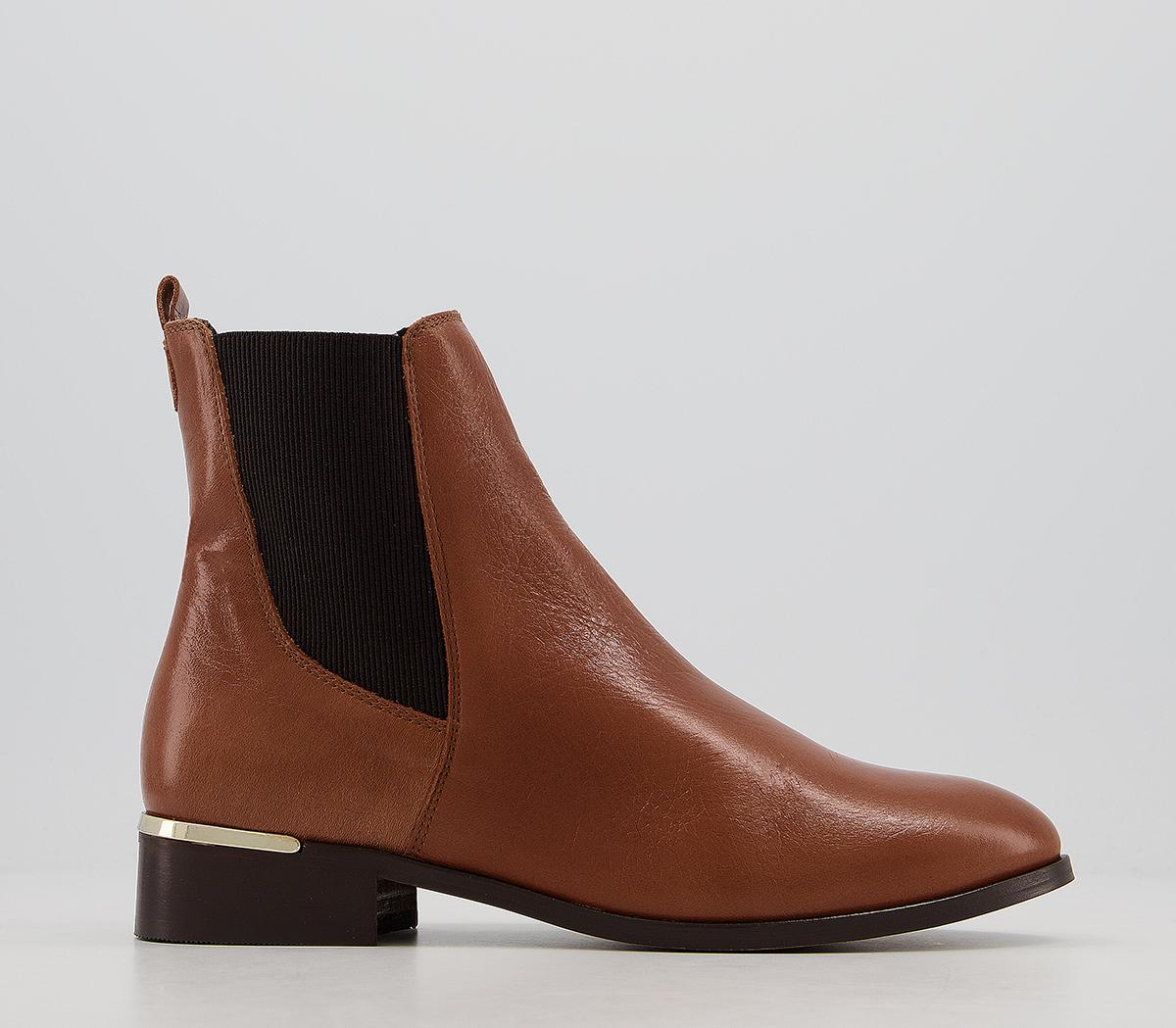 Anika Smart Chelsea Boots With Metal Clip