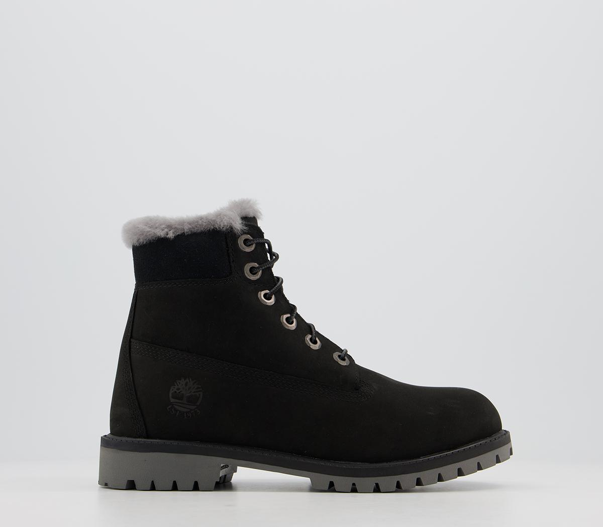 6 Inch Fur Lined Junior Boots