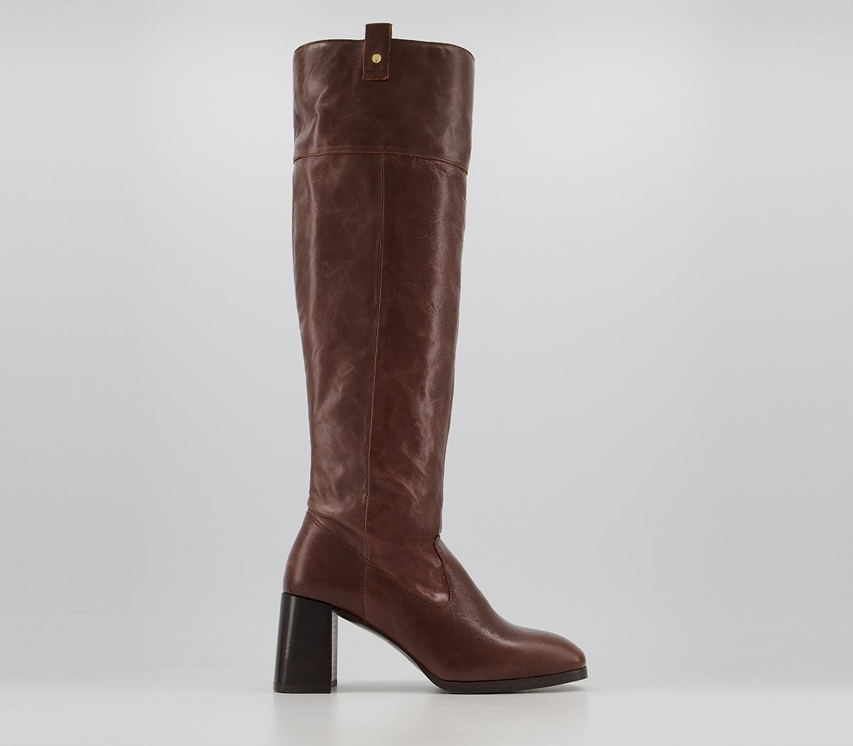 Kacey Platform Knee Boots