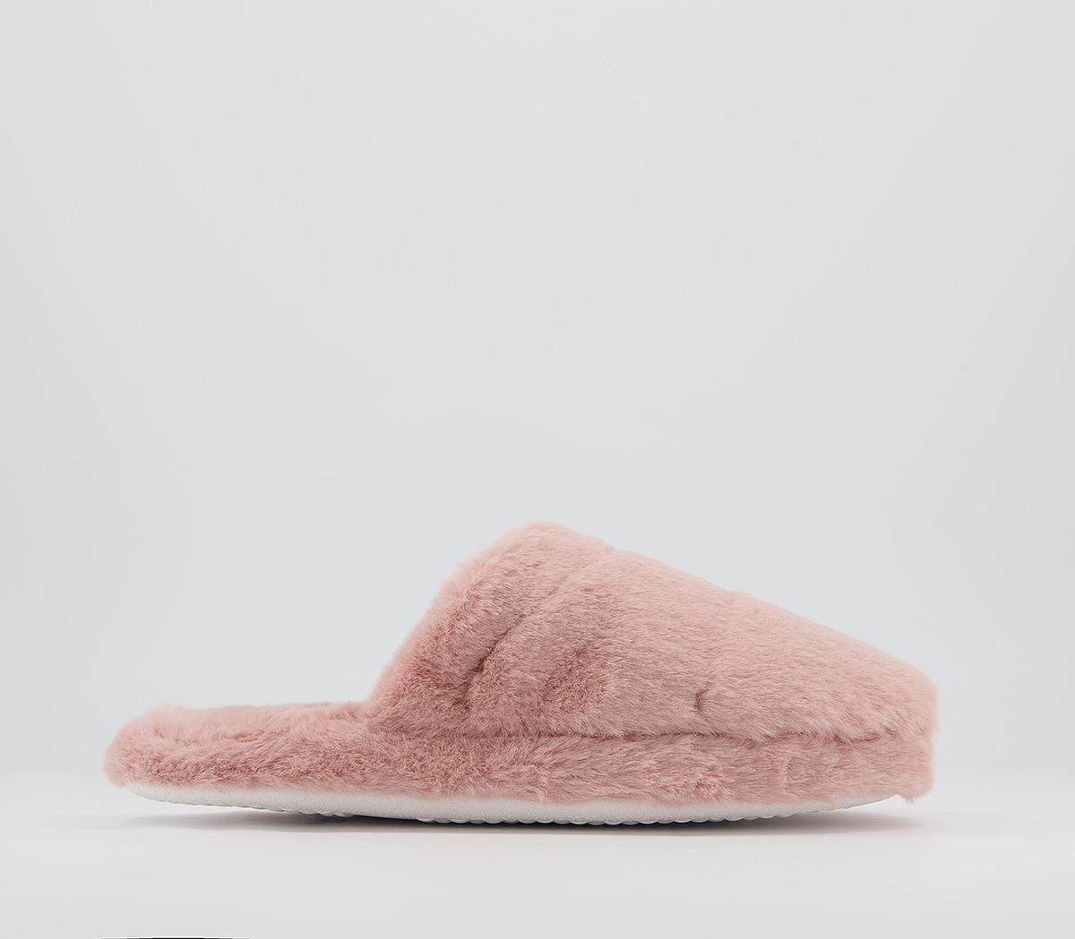 Farrah Furry Mule Slippers
