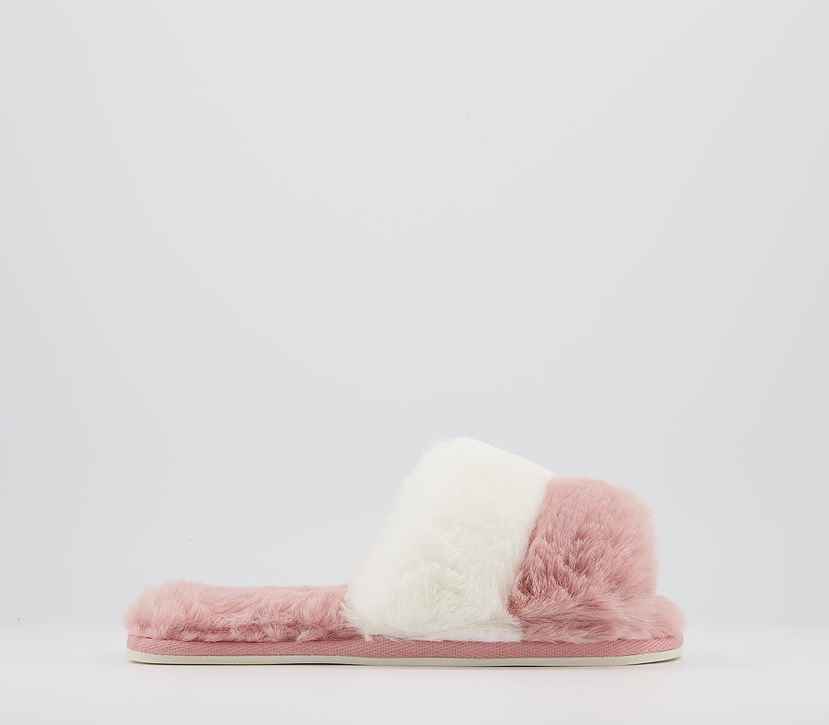 Frankie Colour Block Mule Slippers