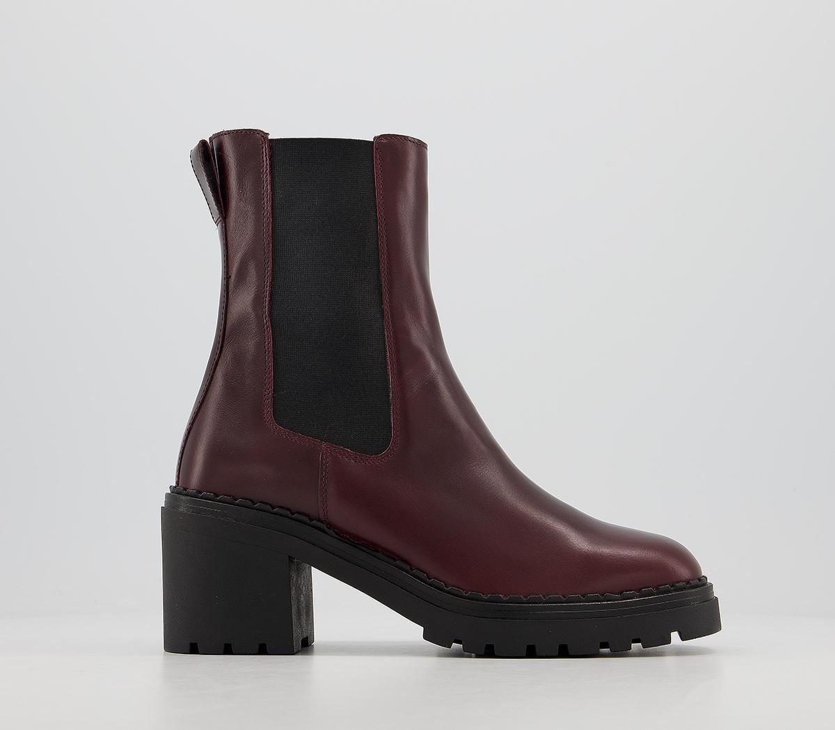 Alexa Chunky Block Chelsea Boots