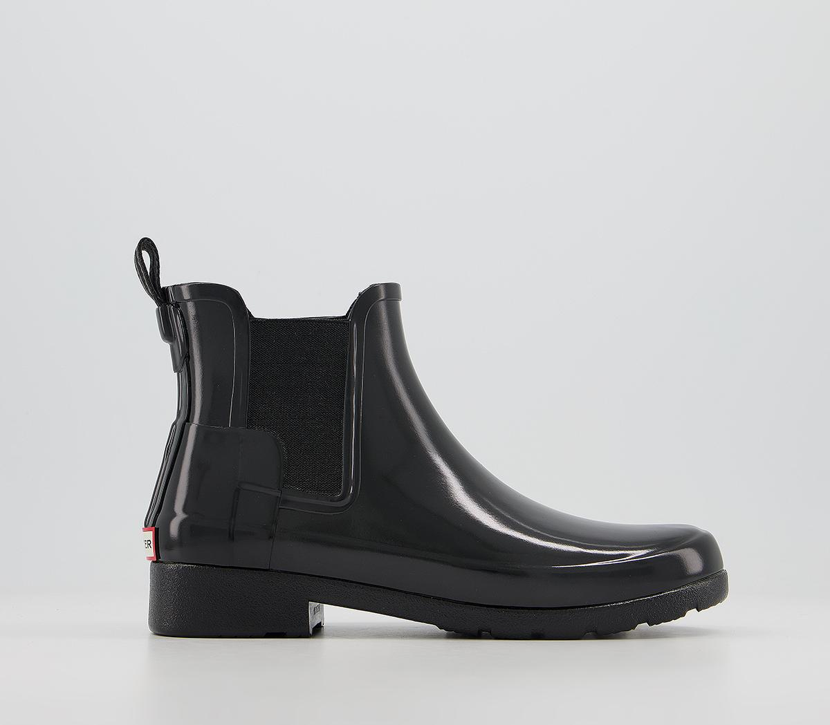 Womens Refined Chelsea Gloss Boots
