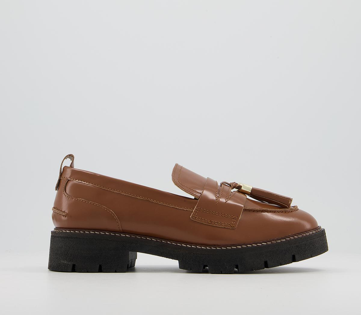 Fundamental Cleated Tassel Loafer Shoes