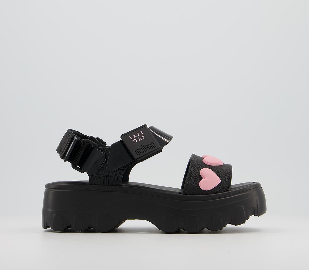 Melissa X Lazy Oaf Kick Off Heart Sandals