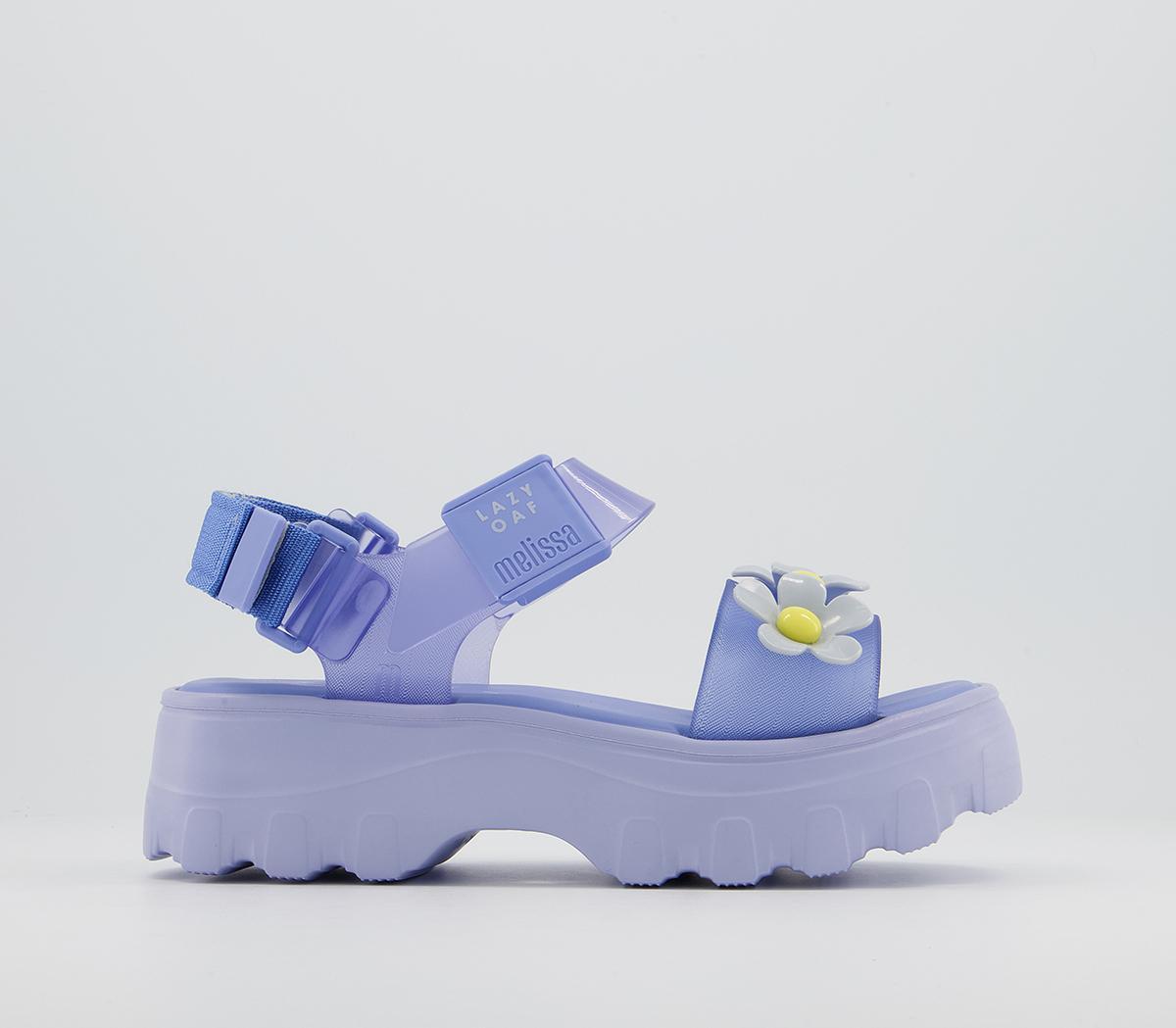Melissa X Lazy Oaf Kick Off Bloom Sandals