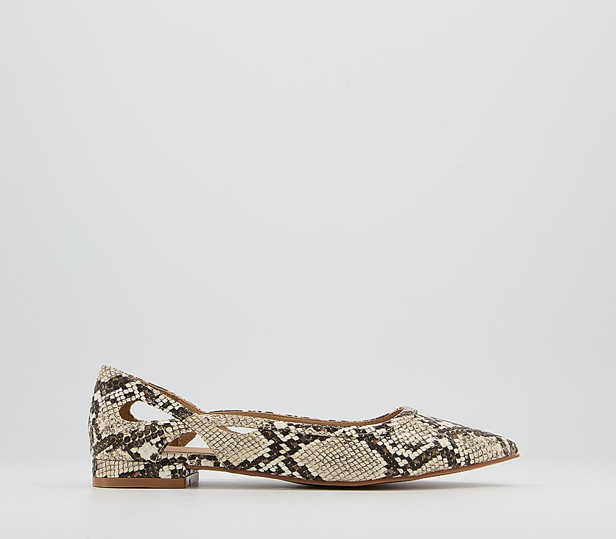 Fading Feature Pointed Pumps