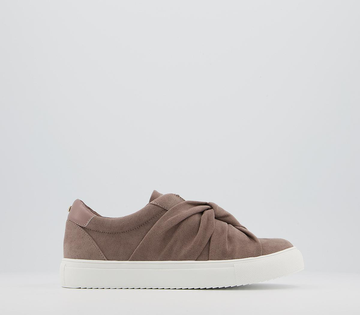 Founded Twisted Slip On Trainers