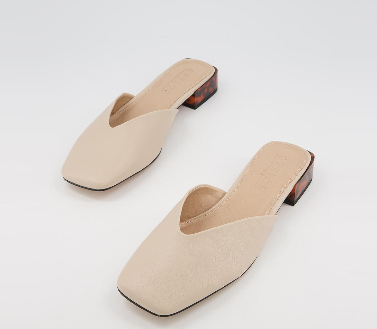 Frequent Feature Strap Mules