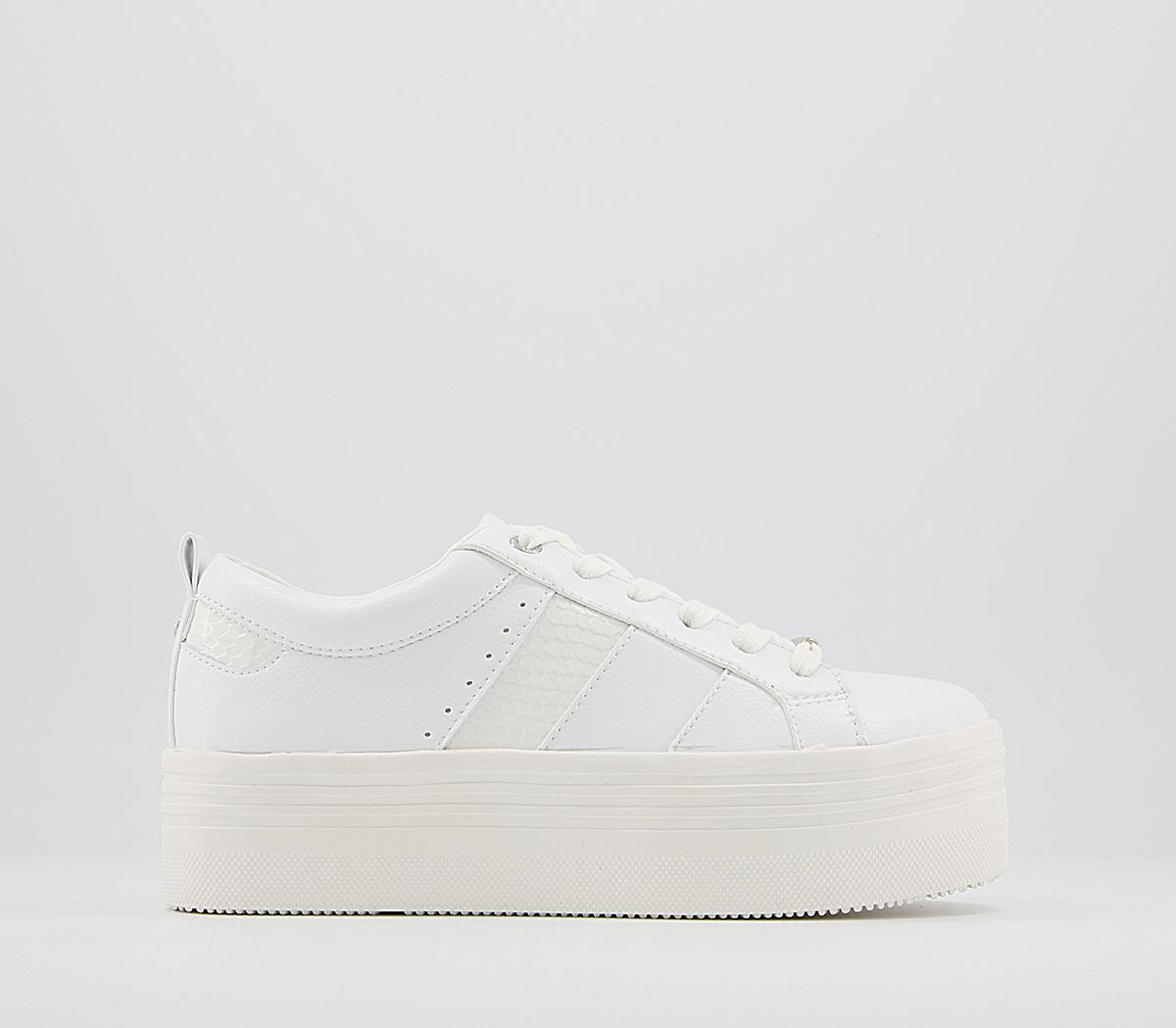 Fitch Flatform Lace Up Trainers