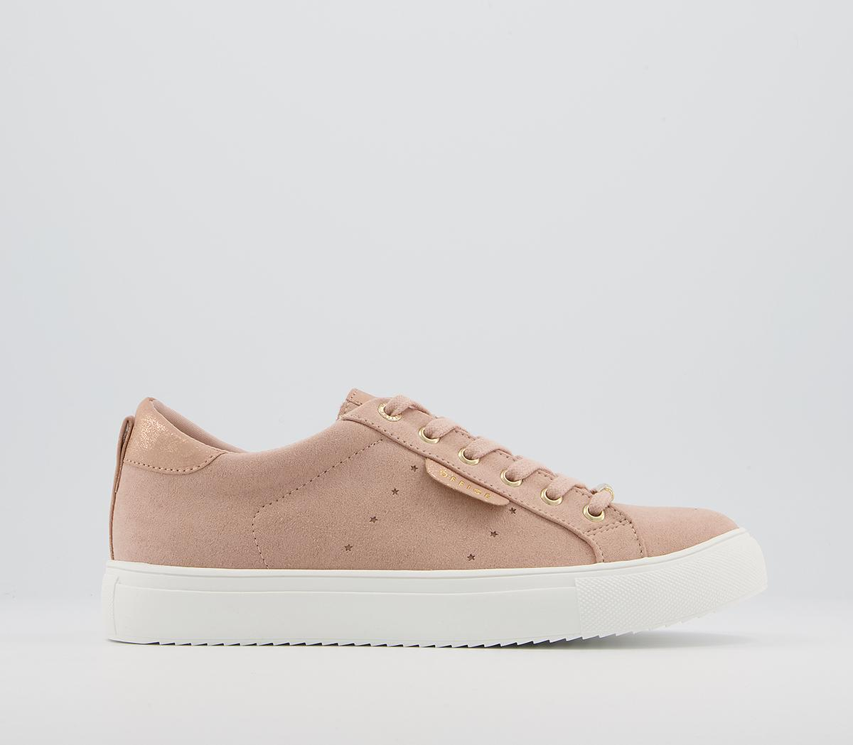 Flora Star Detail Lace Up Trainers