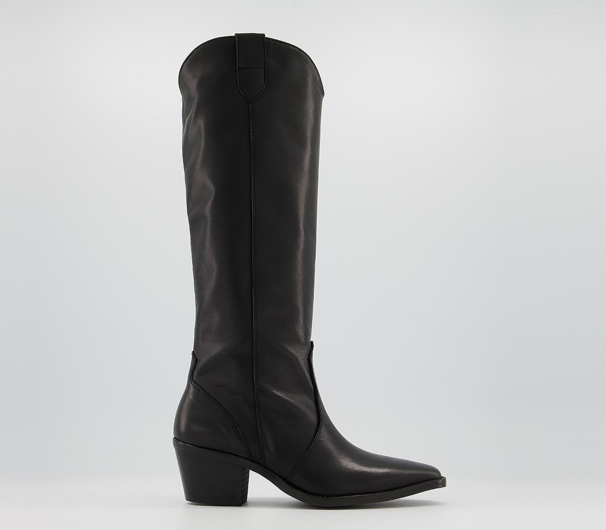 Kansas Western Knee Boots