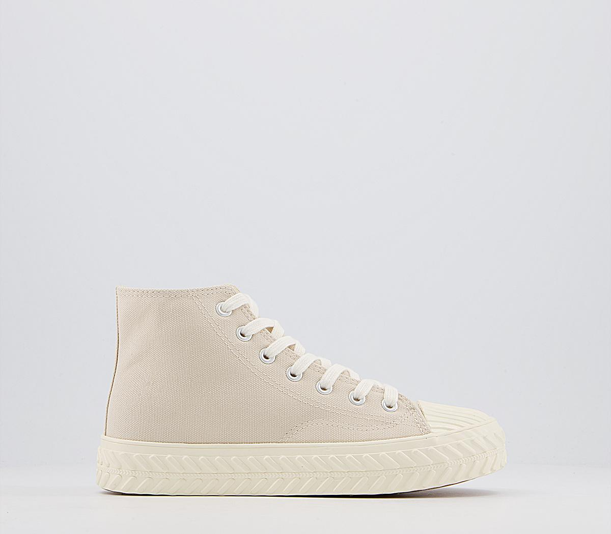 Flourishing Textured Sole High Top Trainers