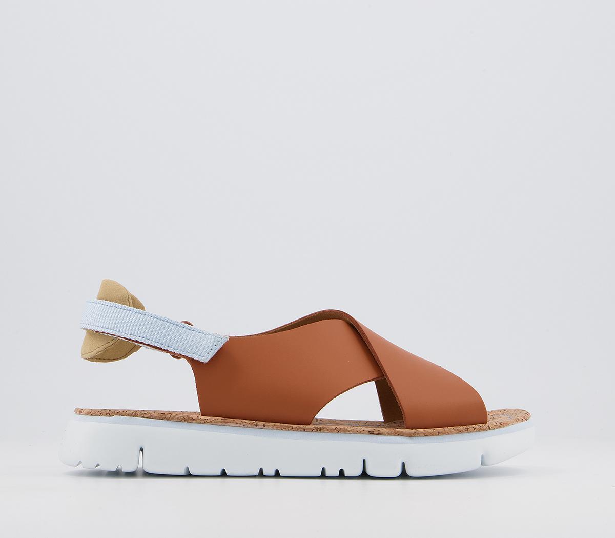 Ogas Cross Strap Sandals