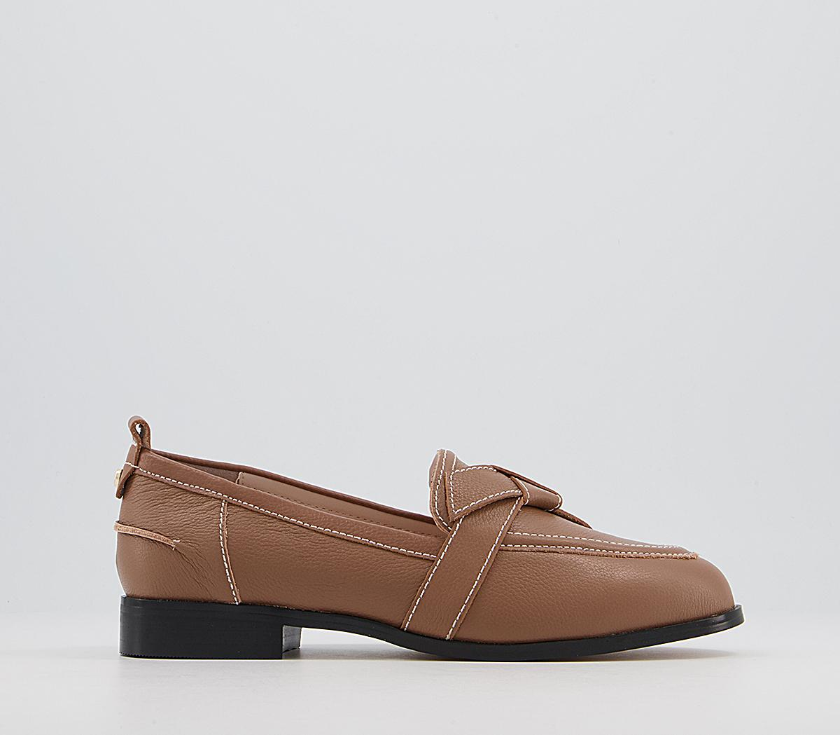 Francesca Feature Bow Loafers