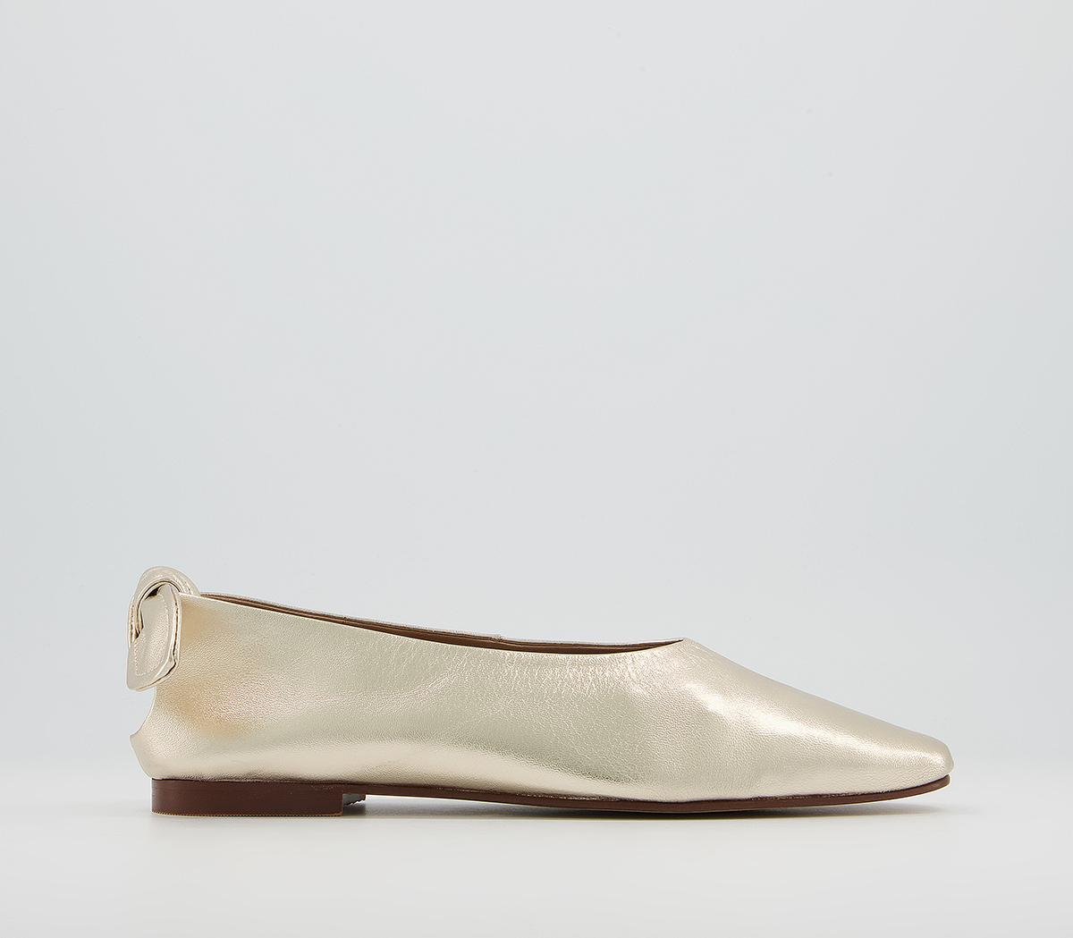 Fleeting Soft Bow Square Ballet Shoes
