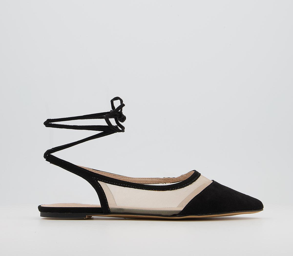 Fahira Ankle Tie Pumps