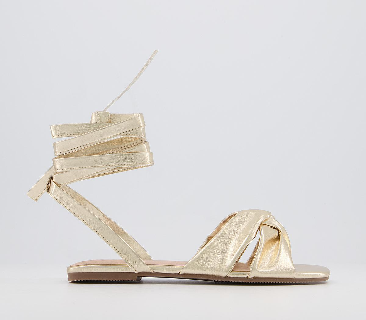 Sincerely Soft Ankle Tie Sandals