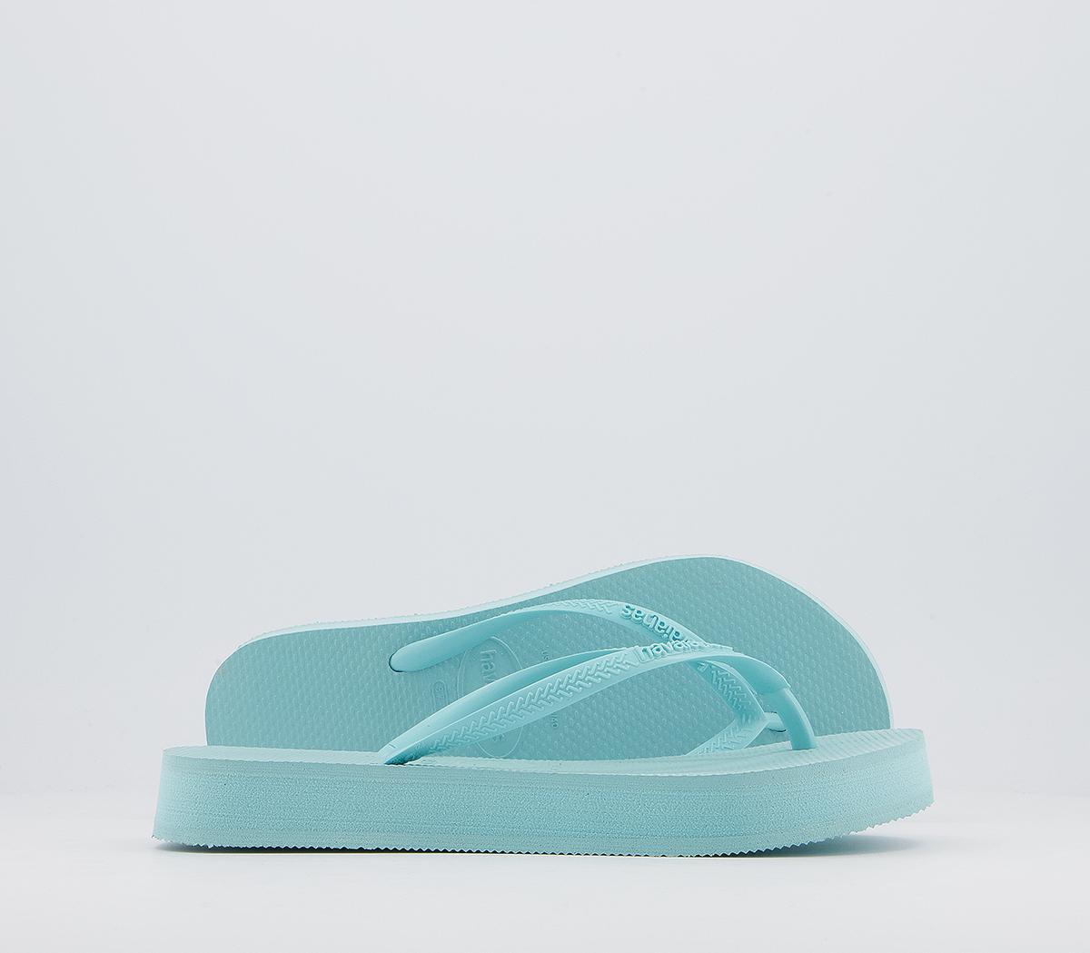 Slim Flatform Flip Flops