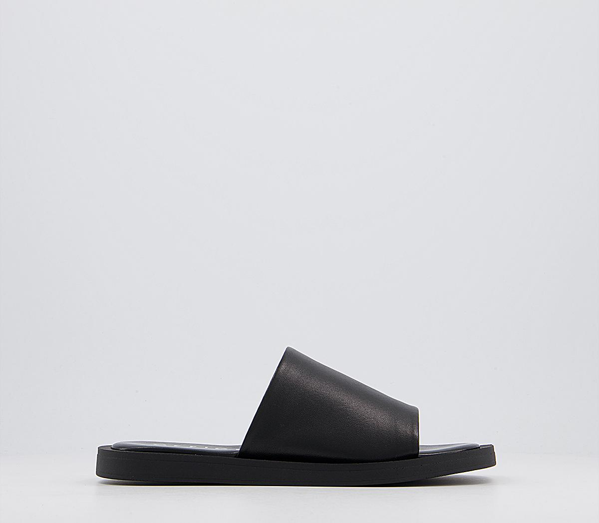 Soften Leather Mules